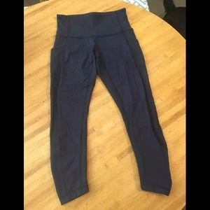 Lululemon Seek the heat 7/8 Tight